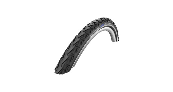 "SCHWALBE Land Cruiser Active K-Guard dæk 28"" trådet sort"